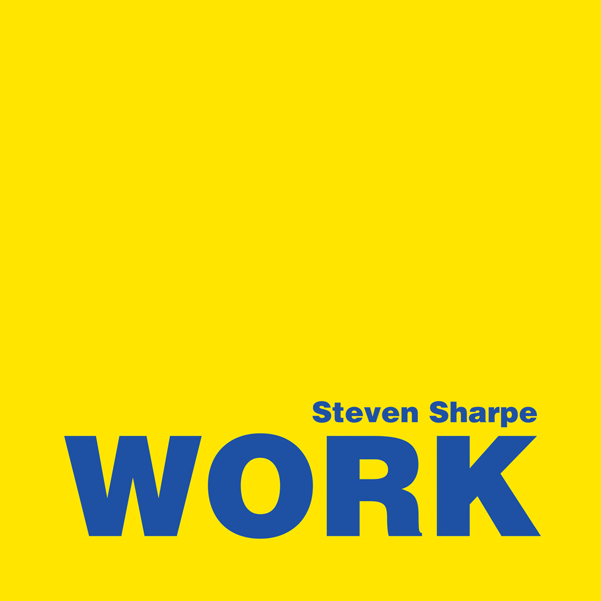 Work Single cover